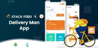 StackFood Multi Restaurant Food Ordering Delivery Man App Source Code