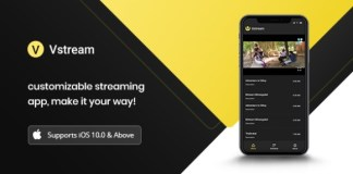 V Stream Video Streaming Application Nulled
