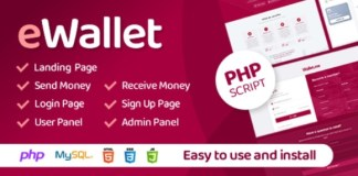 eWallet PHP Script Nulled