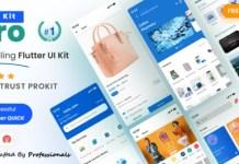ProKit Best Selling Flutter UI Kit App Source Code