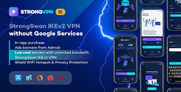 StrongVPN StrongSwan VPN Stable and Free VPN Proxy for Android App