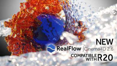 Photo of NextLimit RealFlow C4D 2.6.4.0092 R17-R20 WIN X64