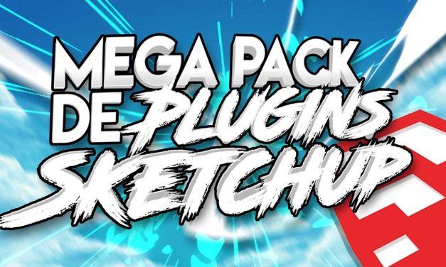 Sketchup 2016-2020 plugin Mega pack
