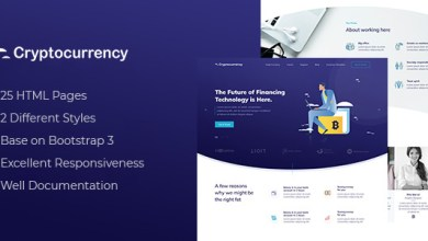 CryptoCurrency - HTML Template 5