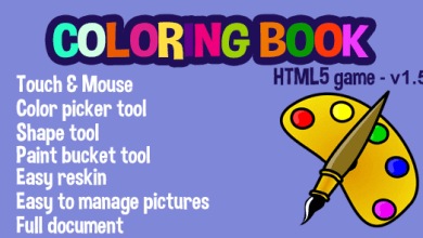Customizable Coloring Book v1.5 - PHP Script 7