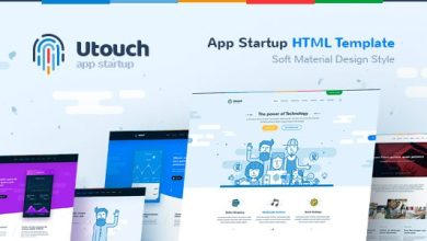 Utouch - HTML Template for IT Startup, Landing Page, Business, Education, Product, Events & Courses 5
