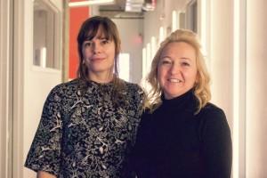 Florence Roche de Tobo et Nadine Dufour de Pixcom.