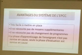 Formation sur l'évaluation bienveillante par Franck Frison (02/2018)
