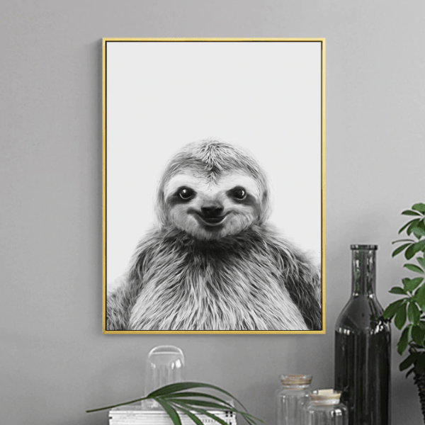 Well Fed Smiling Sloth
