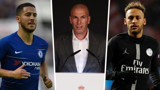 Le rêve de Neymar de jouer avec Hazard pourrait devenir réalité au Real Madrid, déclare Zidane