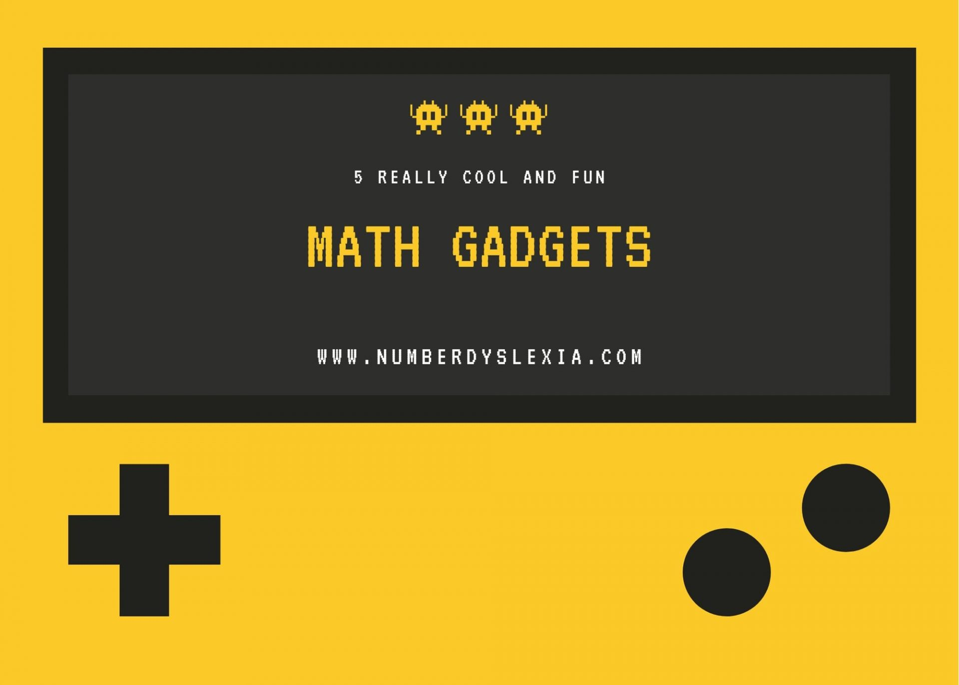 list of 5 really cool and fun math related gadgets