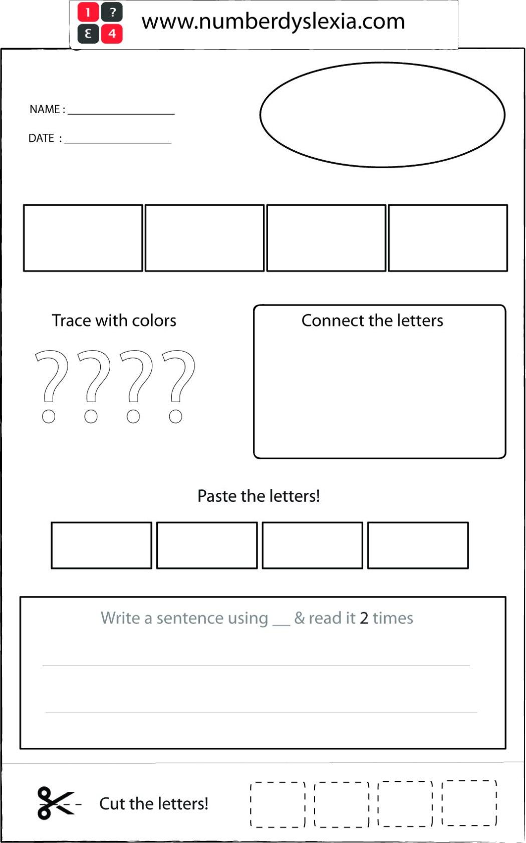 free printable orton gillingham worksheet sample template pdf
