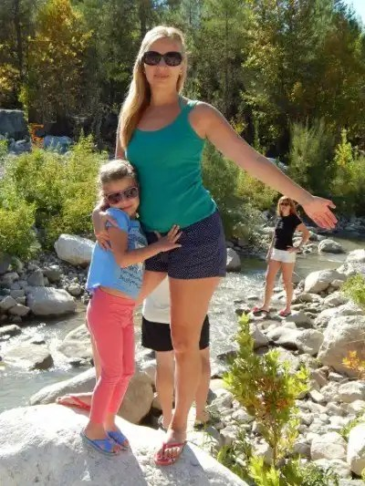 Kate and daughter