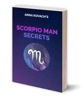 scorpio men secrets book