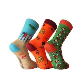 calcetines divertidos algodón