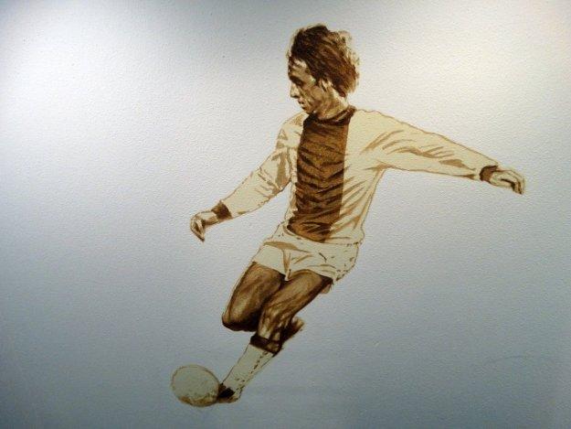 Johan Cruyff na Amsterdam Arena