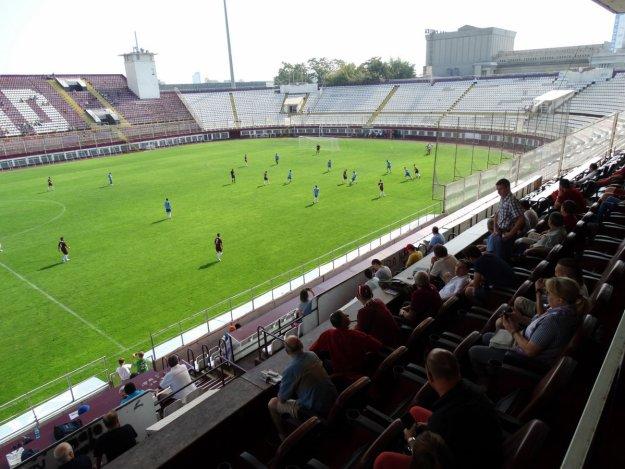 Stadion Rapidu Bukareszt.