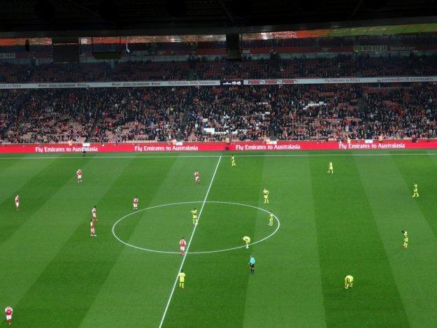 Mecz Arsenalu Londyn