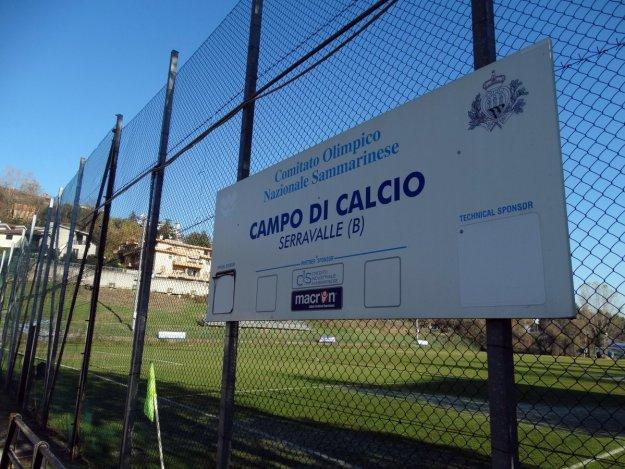 Boisko treningowe koło Stadio Olimpico.