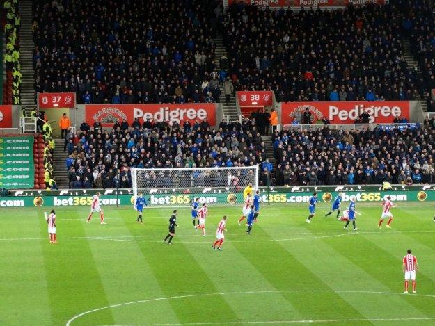 Stoke City. Britannia Stadium