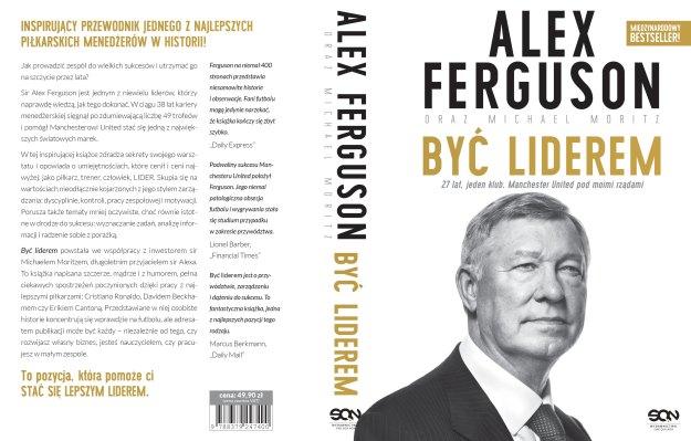 Okładka książki Alex Ferguson być liderem