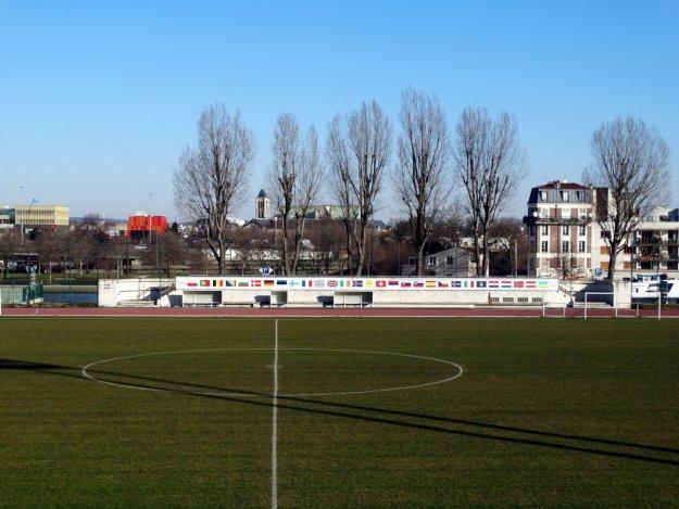 Stadion treningowy przy Stade de France