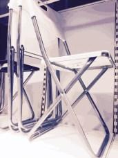 Cross Legs Chair