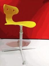 I Leg Chair