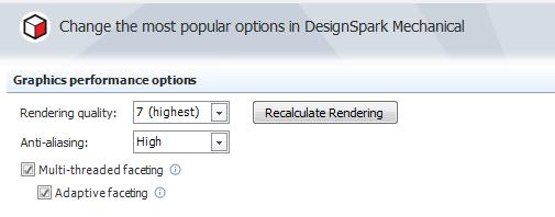 Improving Rendering In Design Spark