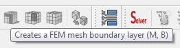 FreeCad 0.17 FEM mesh boundary layer