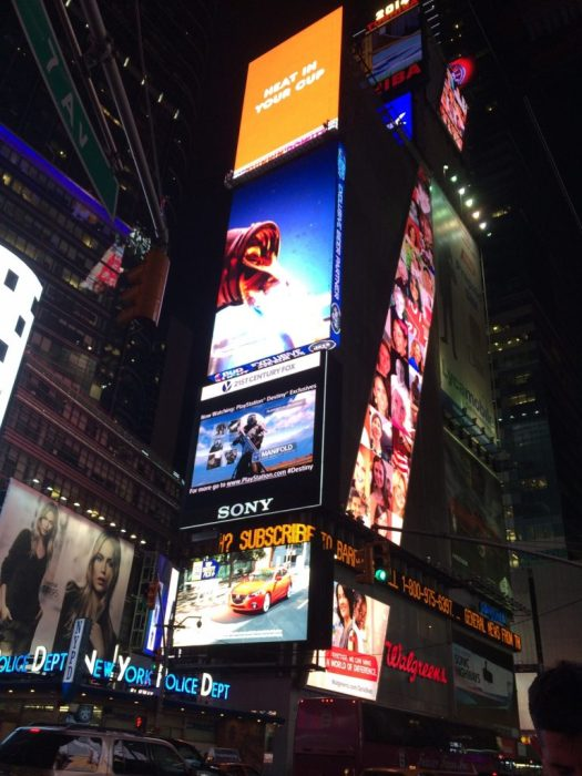 Time Square Buildings