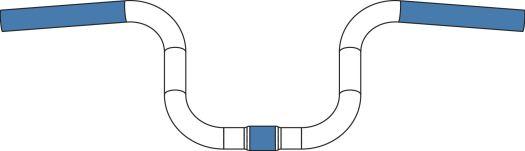 2015 Brompton handlebar