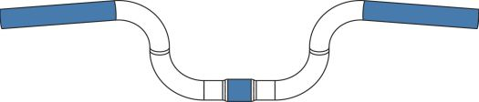 2017 Brompton handlebar