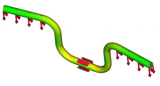 Handlebar bending result