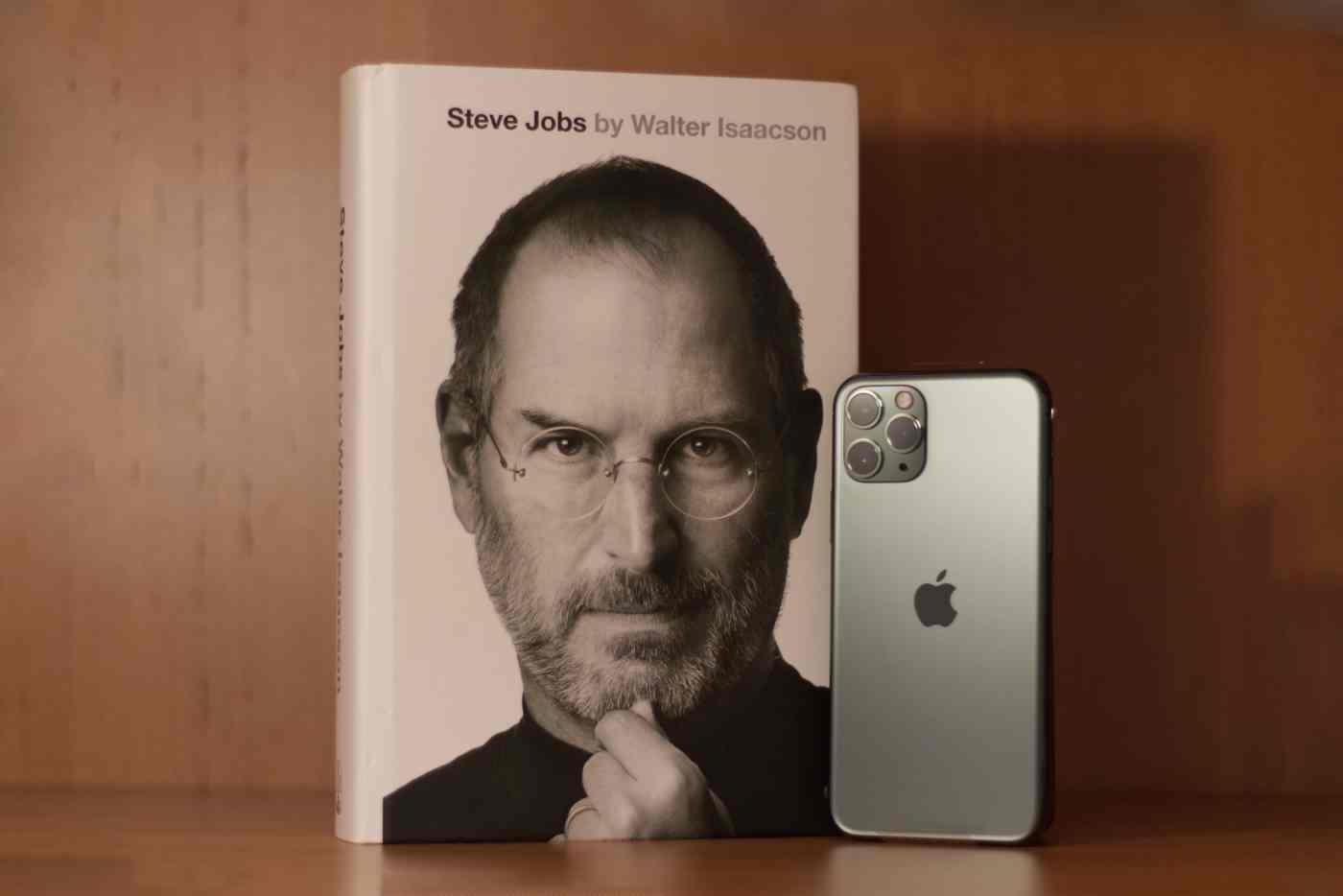 Steve Jobs Biography & iPhone 11 Pro