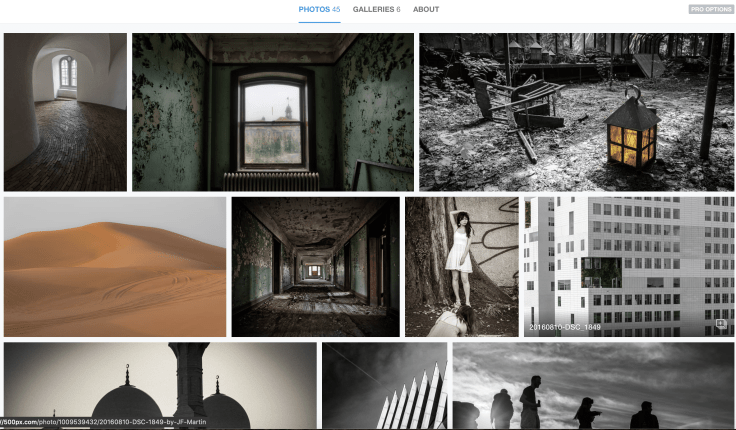 My 500px photos