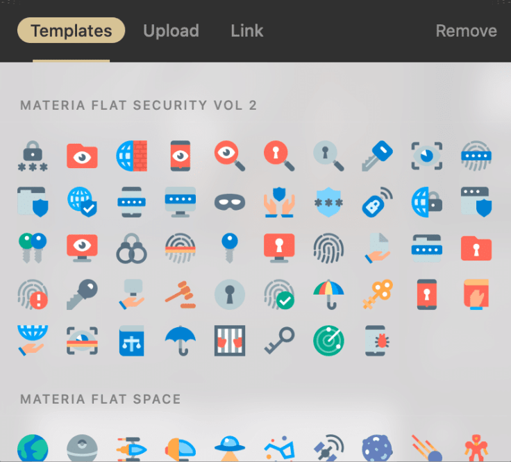 Raindrop.io icons can be used for each bookmark
