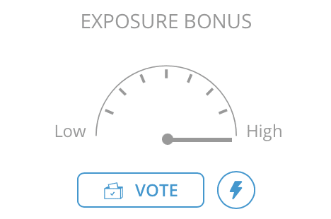 You need exposure bonus for your photos to be visible to other voters