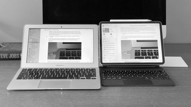 Two devices, two experiences