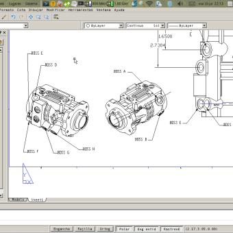 DraftSight CAD 2D con DWG freeware 100% funcional en Linux con Wine