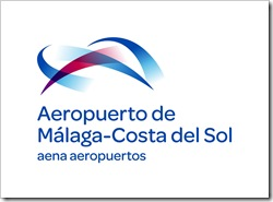 Nuevos logos de Aena aeropuertos y Aeropuerto de Málaga Costa del Sol.