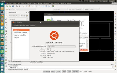 draftsight V1R3.2 ubuntu 64 bits 12.04