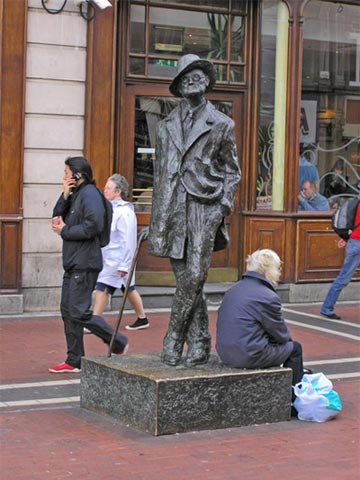 James Joyce statue