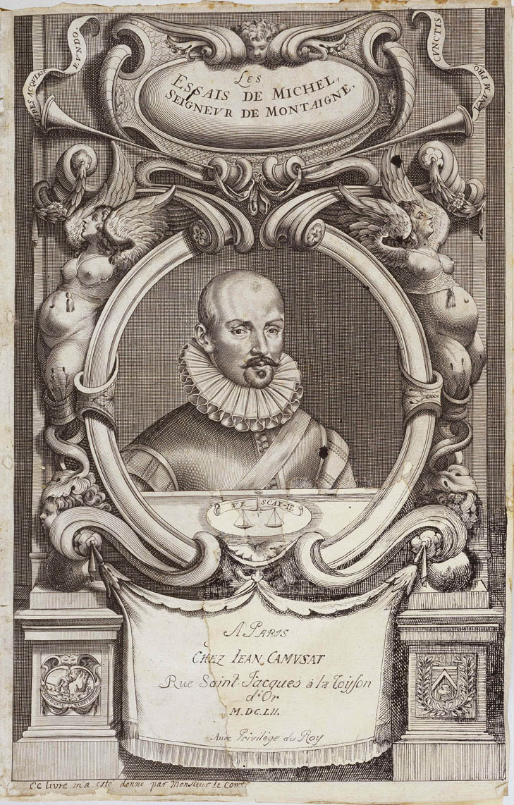 de montaigne essays A selection of philosophy texts by philosophers of the early modern period, prepared with a view to making them easier to read while leaving intact the main arguments, doctrines, and lines of thought.