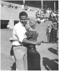 George  Axelrod and Marilyn Monroe