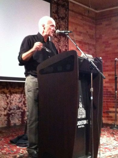 Douglas Glover at TINARS