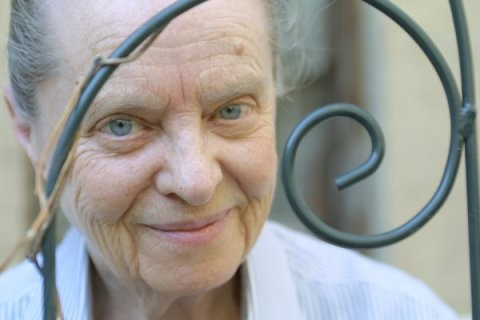 Marie Ponsot, Spiraling and Springing (Photo by Diane Bondareff)