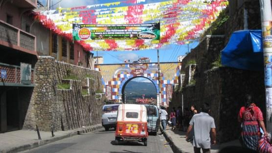 Chichi street scene