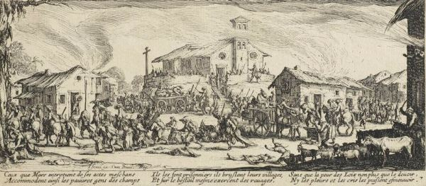 Callot Plundering and Burning a Village