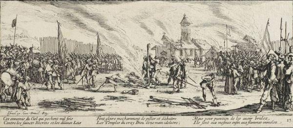 Callot The Stake 1633
